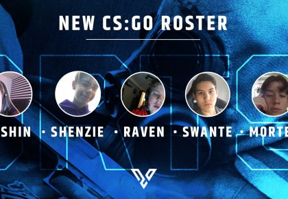 Please welcome our new CS:GO roster!