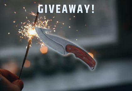 Gut Knife | Vanilla, Giveaway!